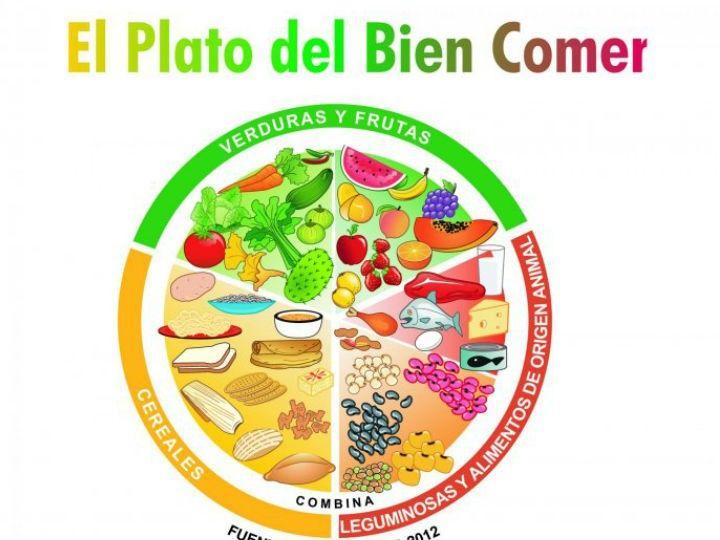 Cuáles Son Los Beneficios Del Plato Del Bien Comer Plato Del Bien Comer Plato Del Buen Comer Alimentación Saludable Para Niños
