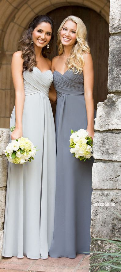 Strapless Bridesmaid Dresses #BeverlyHills #wedding
