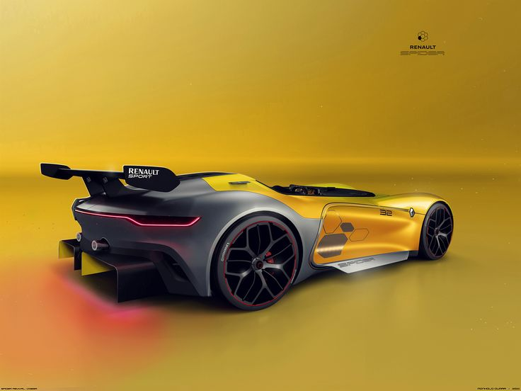 RENAULT Spider revival (Z32SR) on Behance