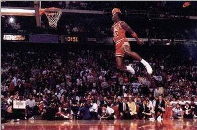 Michael Jordan - One of the greatest athletes to ever play the game