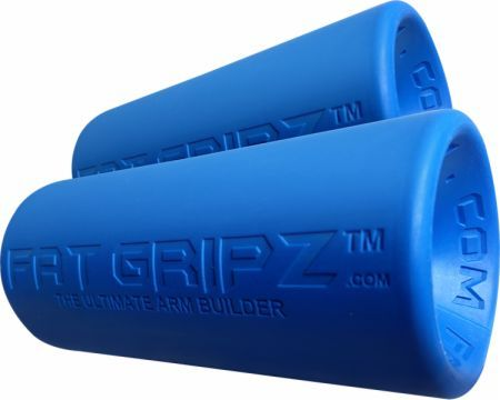 Fat Gripz Fat Gripz Blue 2.25 Diameter EIRON001  - Learn The Secrets Of Arm Size That Pros Have Known For Years!