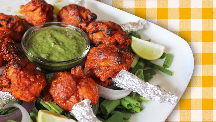 Tandoori Chicken Lolipop RECIPE Indian Chicken Starter Recipe