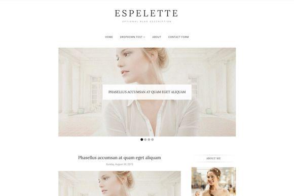 Blogger Template - Espelette @creativework247                                                                                                                                                                                 More