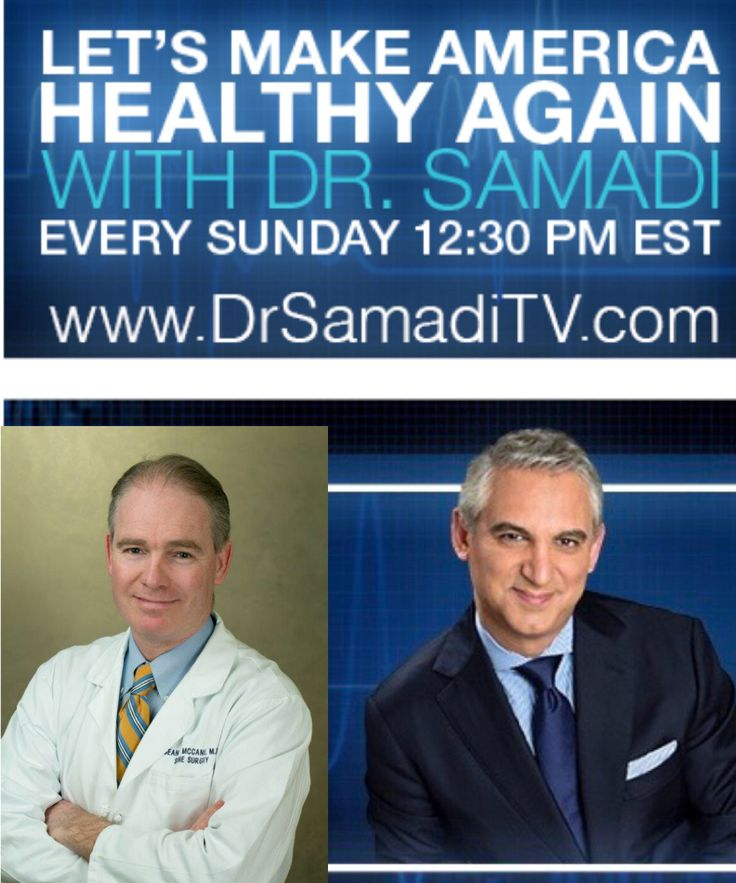 Dr. Samadi Live tomorrow at drsamaditv.com 12:30 pm EST with special guest Dr Sean McCance For the past two decades Dr. Sean McCance, a board certified NYC spine surgeon, has directed one of the leading spine practices in New York, Spine Associates, including lumbar (back) & cervical (neck) injury diagnosis and surgery. #health #healthtips #doctor #cardiologist #medicine