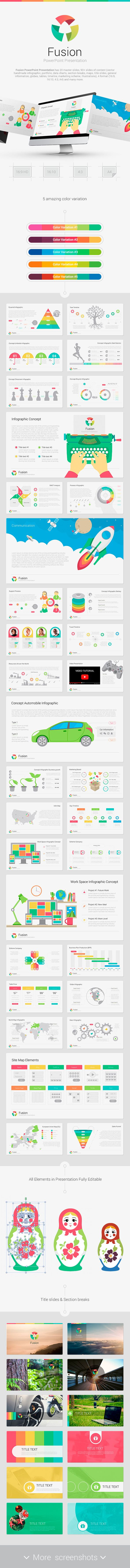 Fusion PowerPoint Template