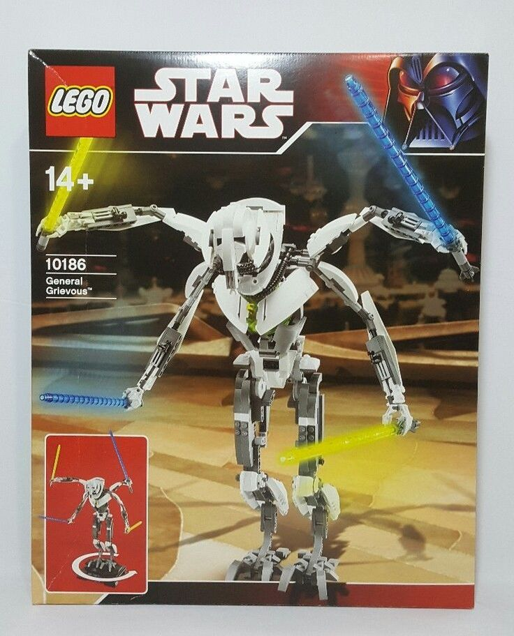 LEGO Star Wars 10186 Ultimate Collector Series UCS General Grievous  #LEGO
