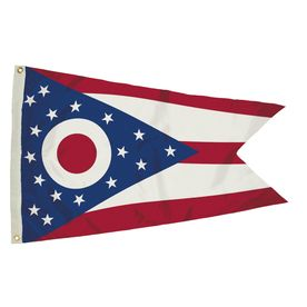 5-Ft W X 3-Ft H State Ohio Flag 2342051