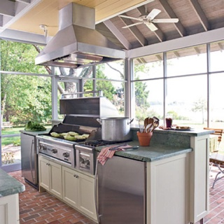 outdoor kitchen httpwwwsouthernlivingcomhome garden