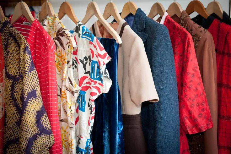 Лучшие винтажные магазины Лондона #Лондон #ShopTop #Магазины #Винтаж