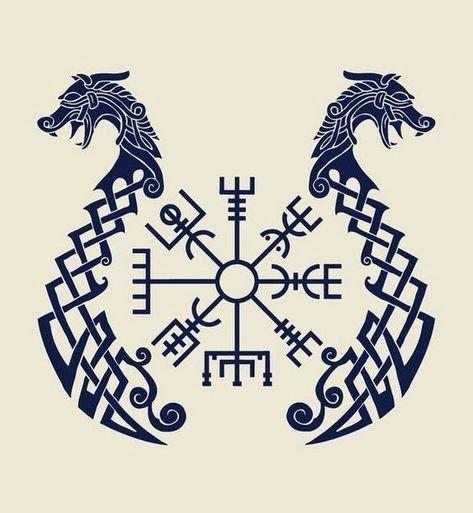 Viking Tattoo: Die mysteriöse Geschichte nordischer Symbole – #die #Geschichte … – Desiree