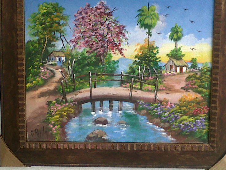 Pin Pinturas De Paisajes Cuadros Al Oleo – L On Pinterest ...