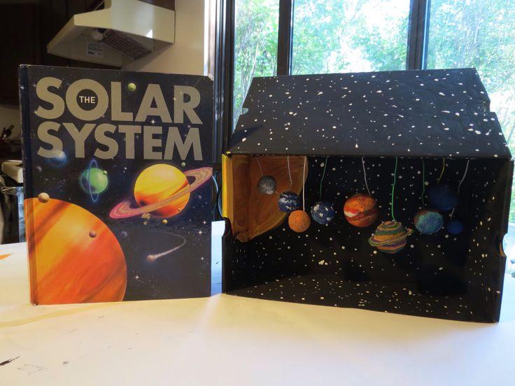 My Three Seeds of Joy Homeschool: Solar System Diorama