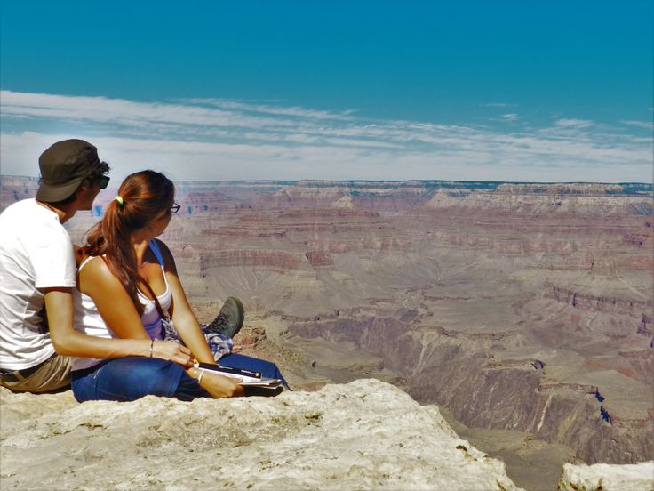 Watching the Grand Canyon