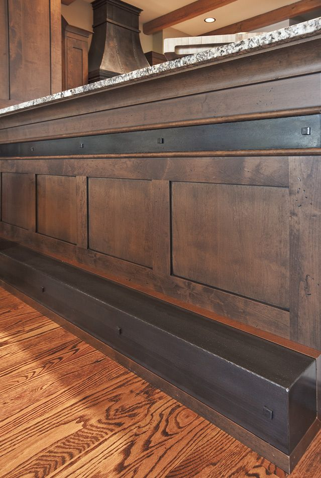 Like this bar between the kitchen and family room.