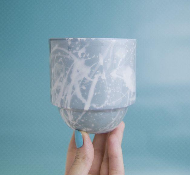 Einzigartig Tasse aus porzellan, machen mit Färbung Masse  Technik hergestellt Die Keramik wurde bei 1260°C gebrannt und kann ohne Probleme im Geschirrspüler gewaschen werden.  hohe...