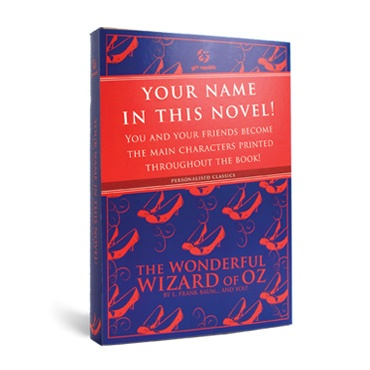 http://www.notinthemalls.com/products/Personalised-Classic-Book-%252d-The-Wonderful-Wizard-of-Oz.html