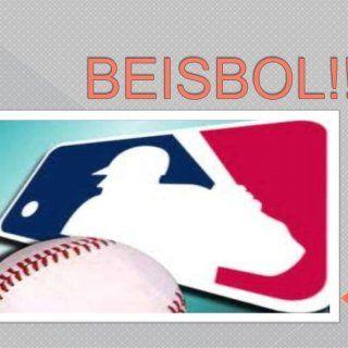 BEISBOL!!!   Quees? El béisbol, es un deporte de conjunto jugado entre dos equipos de 9 jugadores cada uno Se juega en un extenso campo de césped natural. http://slidehot.com/resources/beisbol.45999/