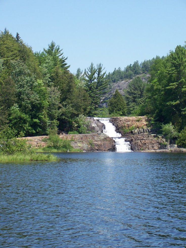 My favorite place with so many happy memories. Blind River Falls Matinenda Lake, Blind River, ON Canada