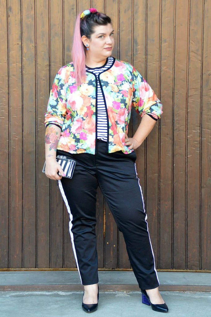 Outfit: #PopCultureStyle Bambi #StylePositive | Plus... Kawaii! - A plus size fashion blog #plussize #outfit #disneybound #bambi #flower