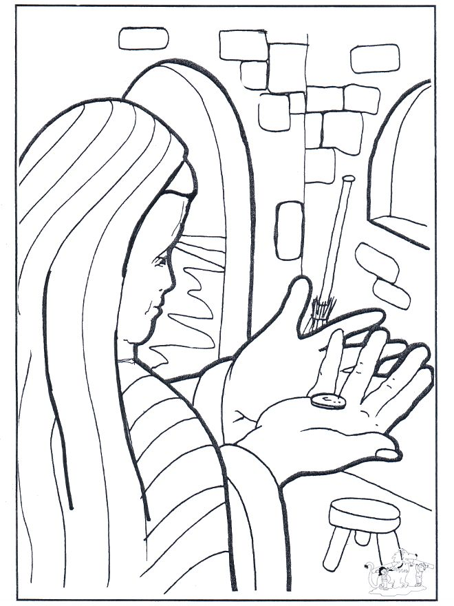 The Beginners Bible Coloring Pages