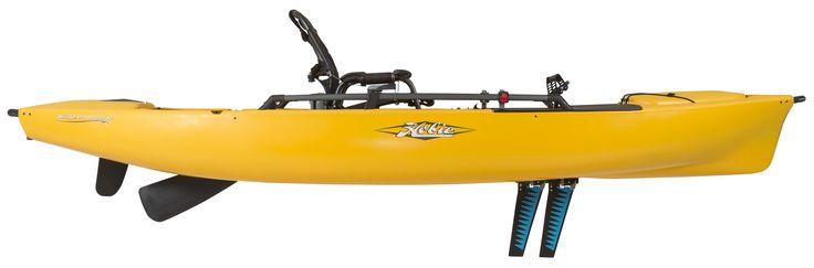 Hobie Kayaks : Mirage Pro Angler 12 : Golden Papaya