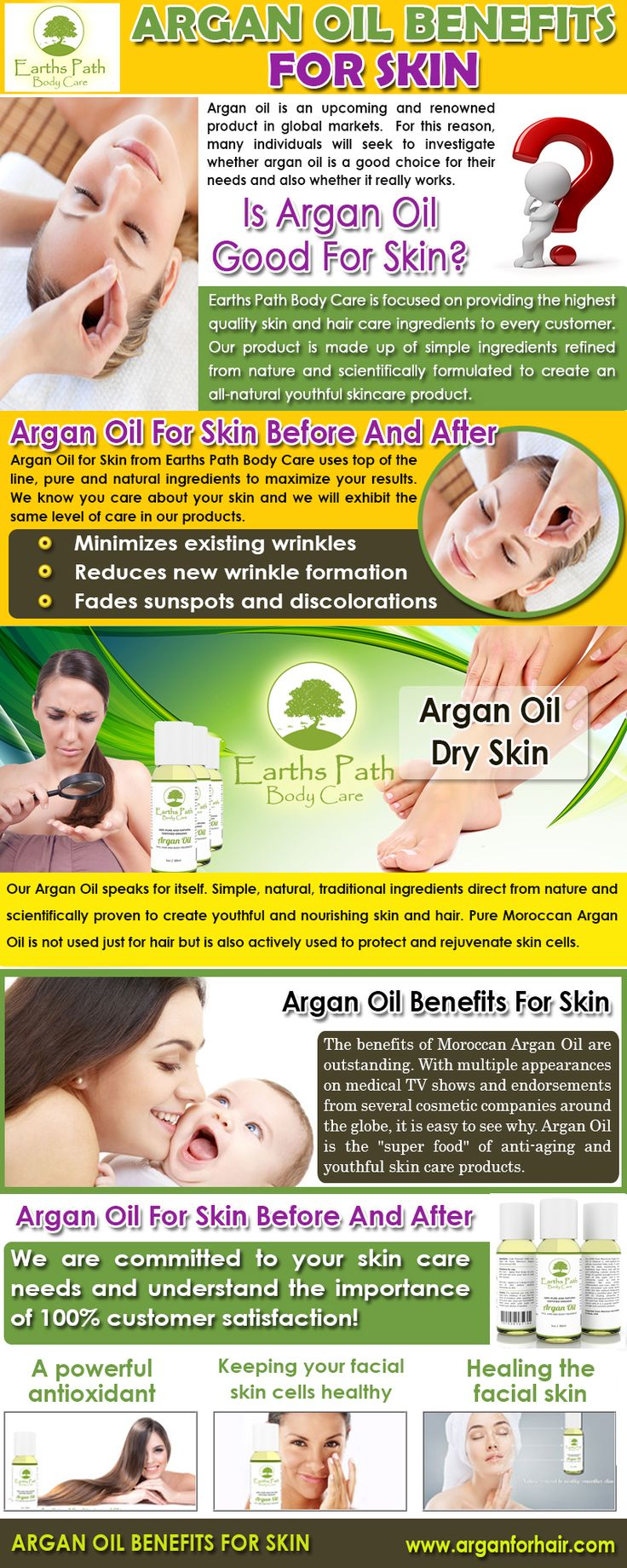 If you don't know the benefits of 100% Argan oil yet, you are missing out on one of the best ways to mask aging on your face and body. Check this link right here http://www.arganforhair.com/ for more information on Argan oil Benefits For Skin. The argan oil benefits for skin are numerous. People are clamoring to get their hands on this oil for its wondrous effect on skin.Follow us : http://whatarethebenefitsofarganoilforface.blogspot.com/