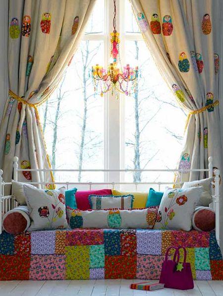 Baboushka fabric from Voyage Boutique #bornbohemian