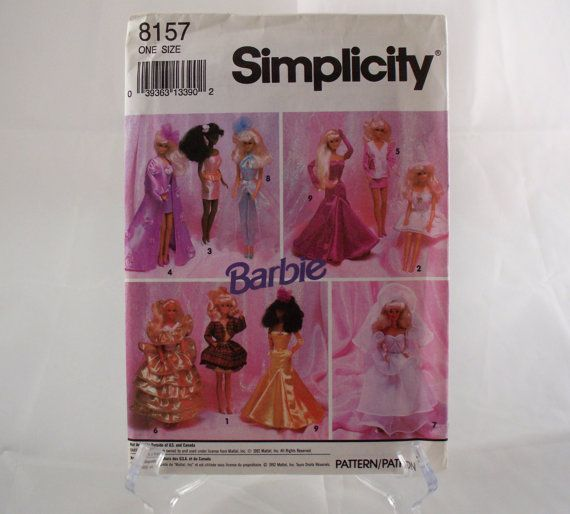 121 besten My Barbie sewing patterns Bilder auf Pinterest ...