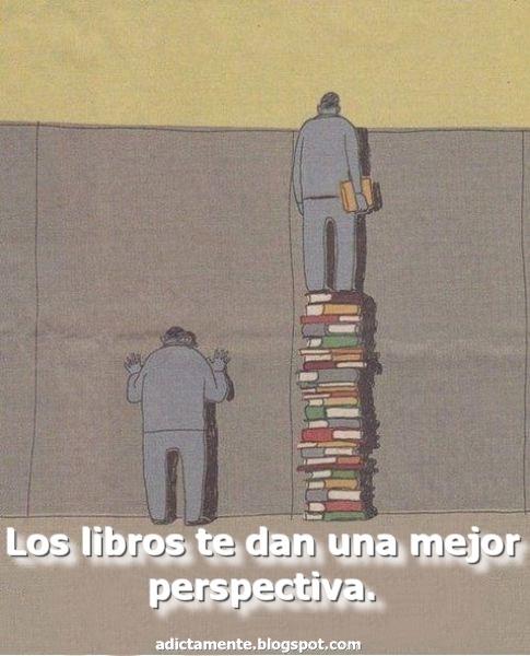 los libros, mejor perspectiva, comic