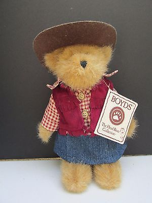 Baily Cowgirl -Boyds Bears  Retired    #101