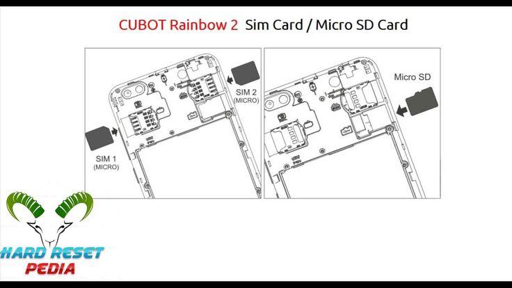 Cubot Magic Insert Sim Card Micro Sd Card Httpsyoutu