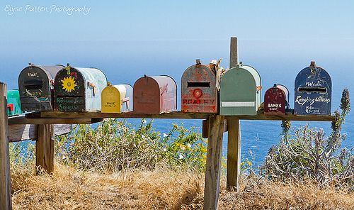 Monthly mailbox- Send someone special something in the mail once a month.