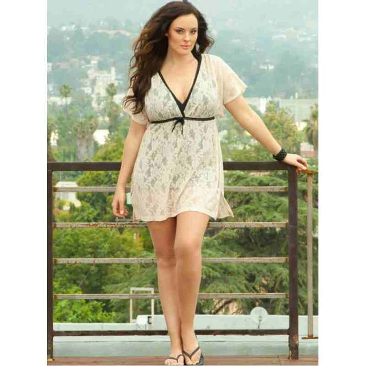 Halle Lace Cover Up (Sand) $12.40 http://www.curvyclothing.com.au/index.php?route=product/product&path=59_61&product_id=765
