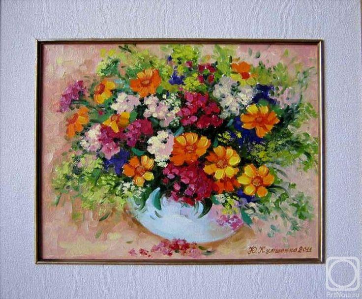 Кулишенко (Попенюк) Юлия. Букет полевых цветов