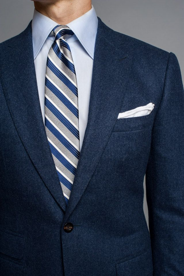 1032 best suit tie shirt combos images on pinterest man Blue suit shirt tie combinations