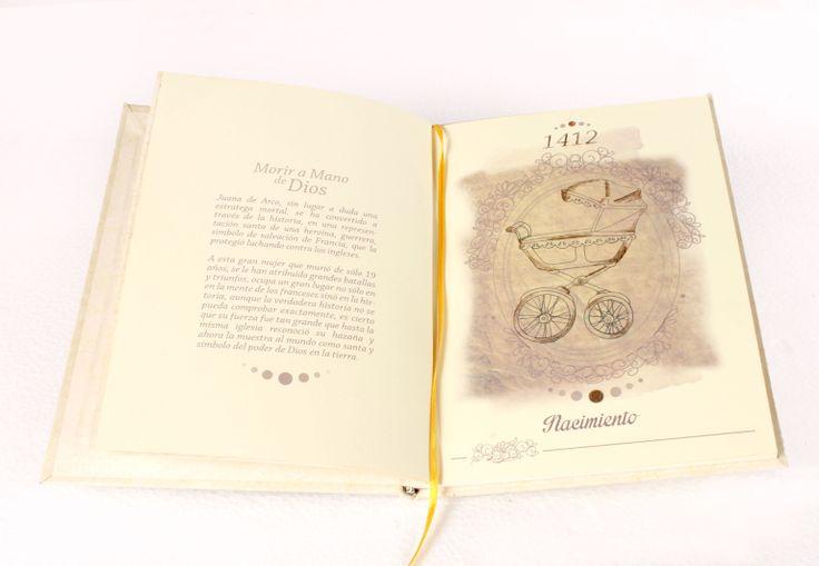 Página interna libro ilustrado Juana de Arco