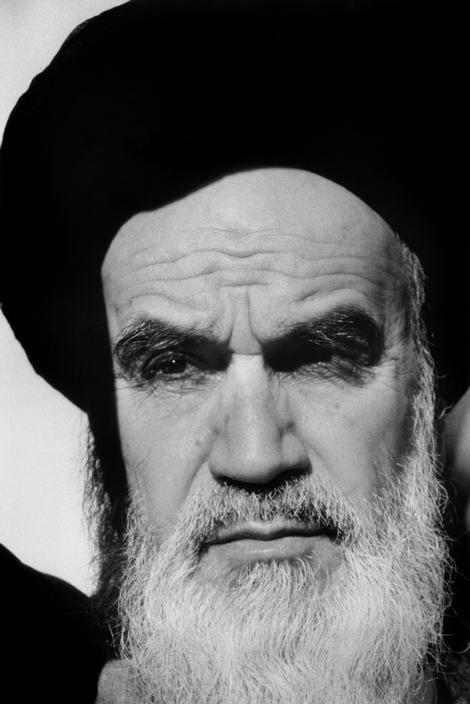 ABBAS :: Ayatollah Khomeiny, leader of the Iranian Revolution, Qom, Iran, September 1979.