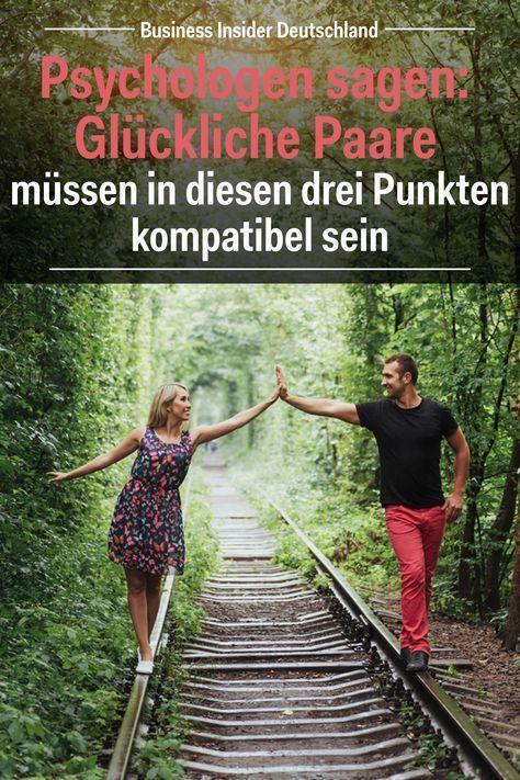 Psychologen sagen: Glückliche Paare müssen in diesen drei Punkten kompatibel sein