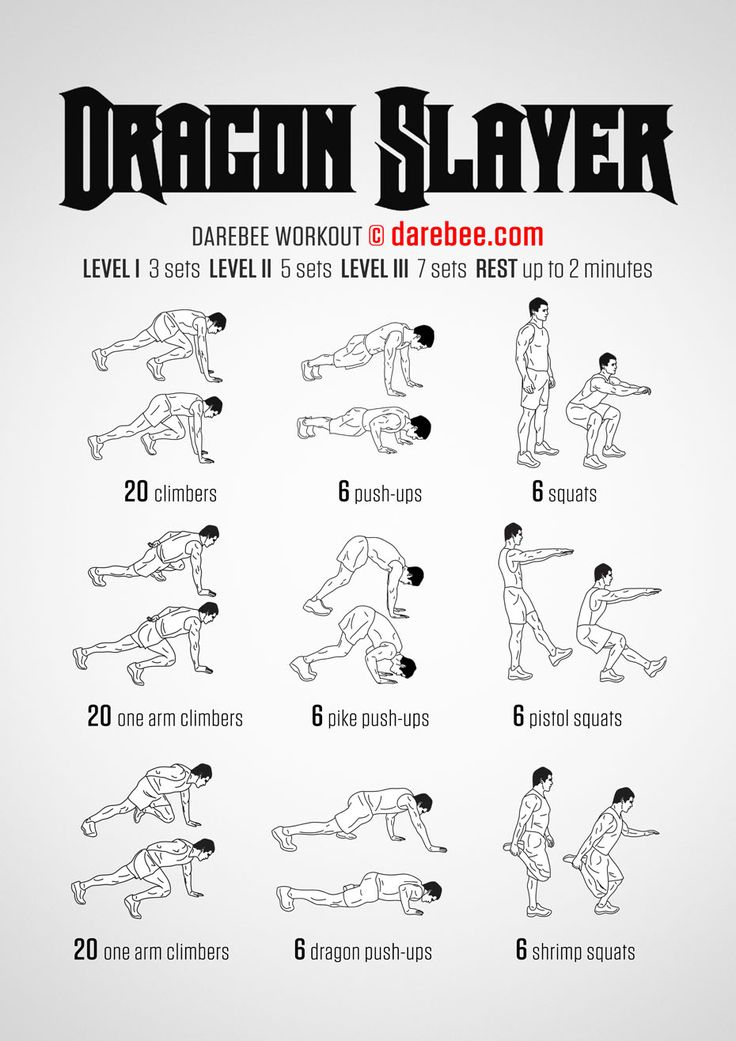 Dragon Slayer Workout