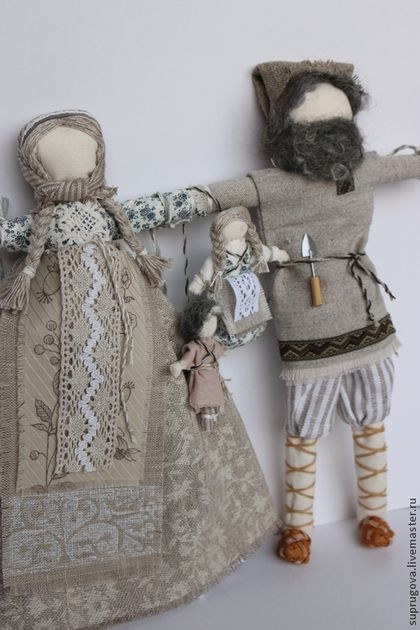 """Народные куклы ручной работы. """"Неразлучники"""" Свадебная кукла-оберег. Добрые традиции. Интернет-магазин Ярмарка Мастеров. Свадьба"""