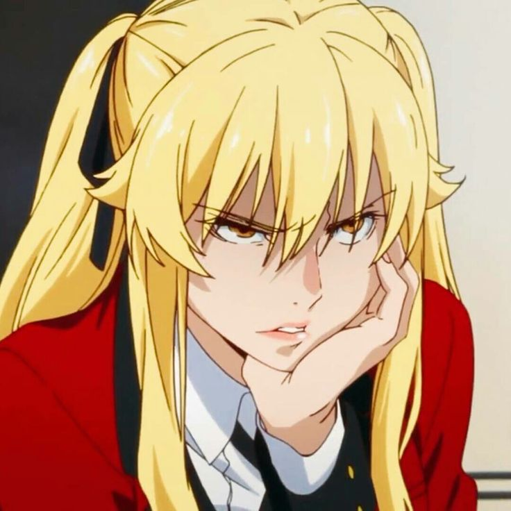 Throughout the entire series, he's never had a love interest… Mary Saotome ~Kakegurui~ | Anime screenshots, Anime, Anime ...