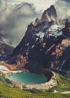 Mount Fitz Roy, Patagonia, Chile