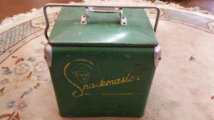 Rare Vintage 1950 S Snackmaster Soda Pop Bottle Picnic