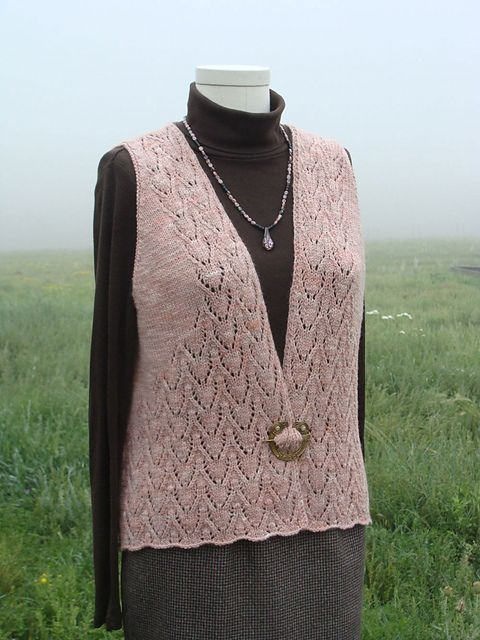Ravelry: Project Gallery for Desert Arrows Vest pattern by Jean Clement