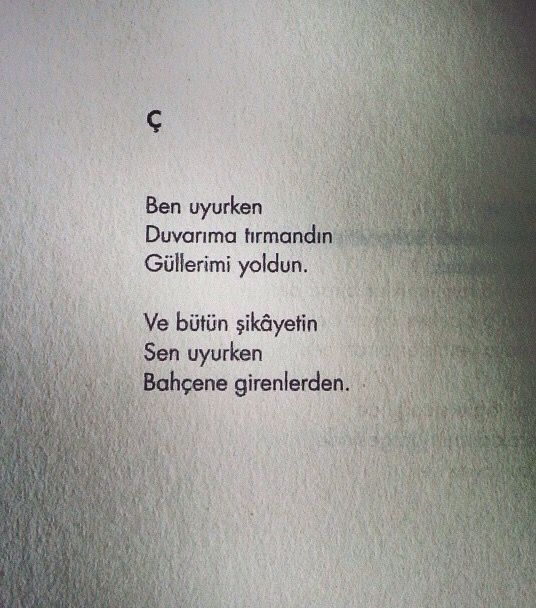 Özdemir Asaf şiir