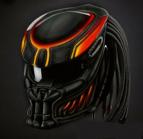 PROMO FREE SHIPPING US ONLY BLACK MAMBA PREDATOR HELMET DOT APPROVED #CELLOS