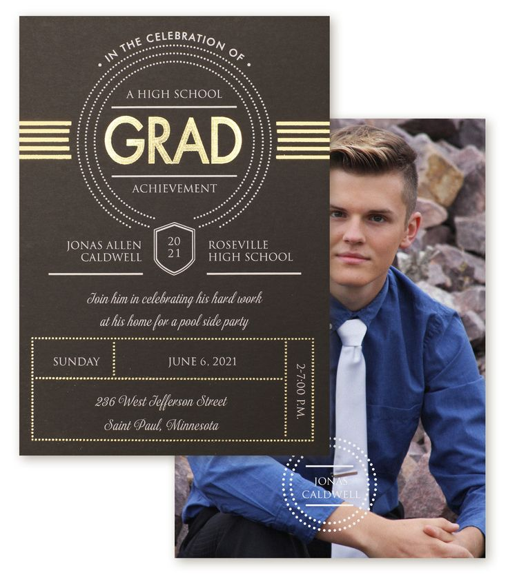 sample open house graduation party invitations%0A Available at Persnickety Invitation Studio