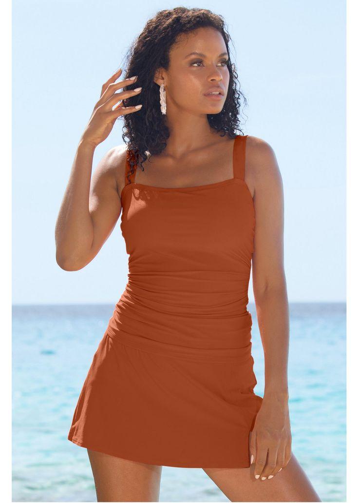 Delta Burke Pink Kokimo Plus Size Skirtini - Plus Size