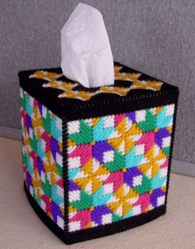 6274 best images about plastic canvas on pinterest for Tissue box cover craft