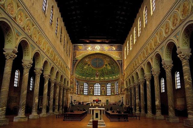Basilica di Sant'Apollinare in Classe by cecilia.bandini, via Flickr